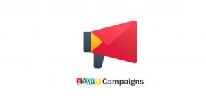 Zoho Campaigns - Acelérate con un ERP