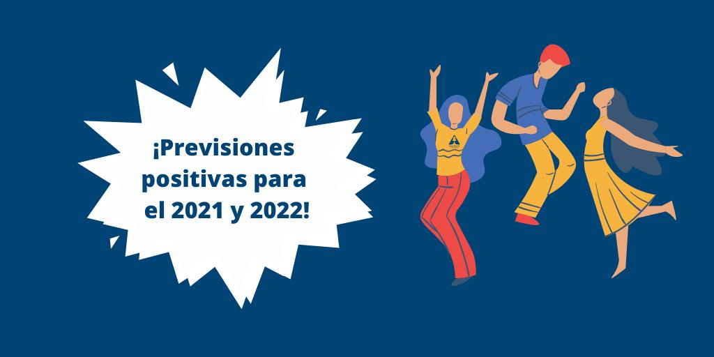 Previsiones positivas para el 2021 y 2022