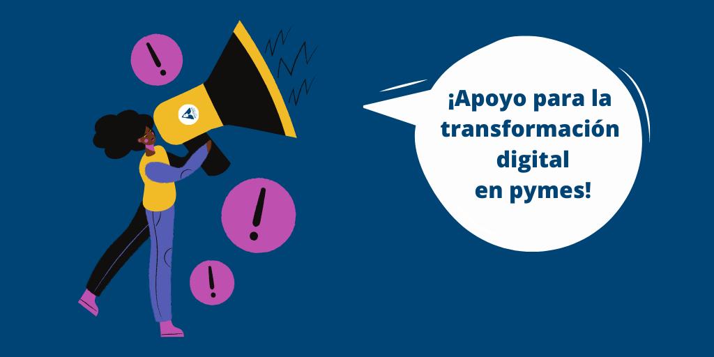 Apoyo para la transformación digital en pymes