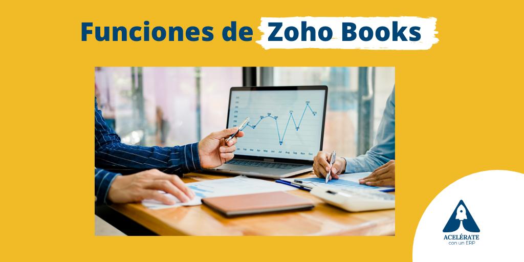 Funciones principales de Zoho Books