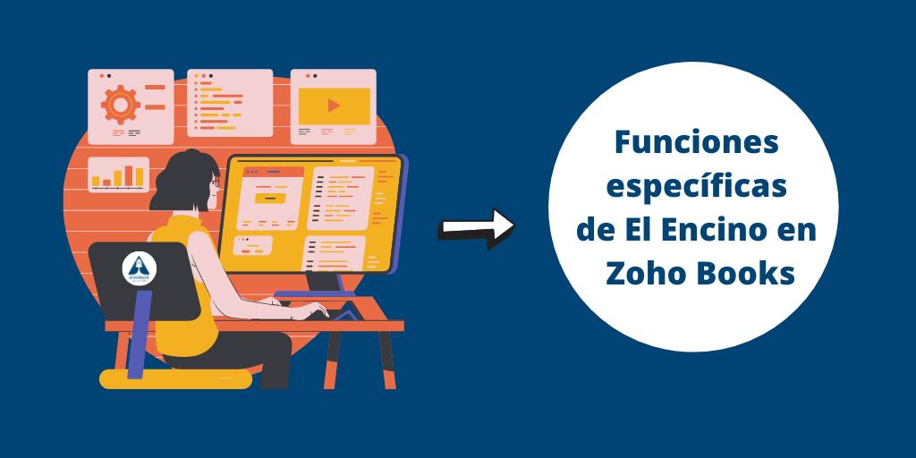 Cómo utiliza Muebles El Encinar Zoho Books