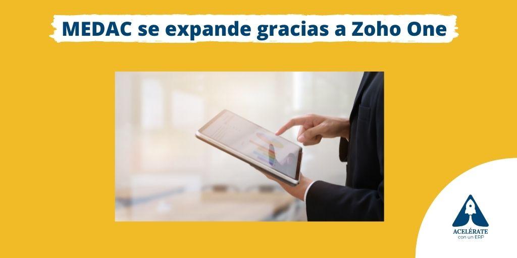 El Instituto Oficial de Formación Profesional MEDAC y su entorno en Zoho One