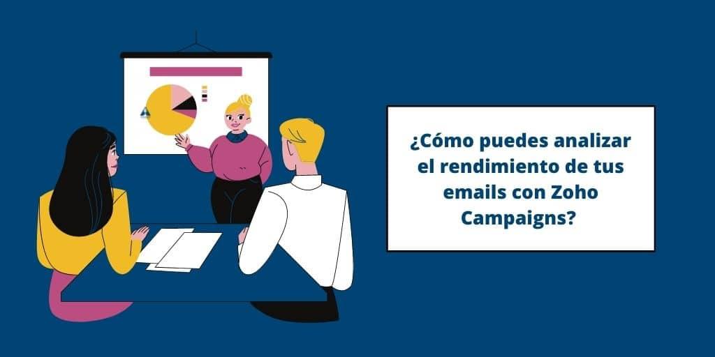 Zoho Campaigns para analizar el rendimiento de tus emails